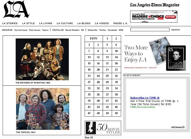 June 2011 LA Times Magazine